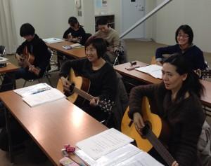 暮らしの学校ギターグループレッスン